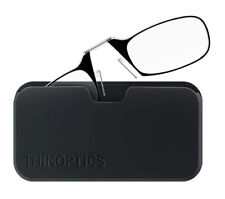 ThinOptics Black Universal Pod Case, +2.00 Black Reading Glasses UPB2.0BLACKISR