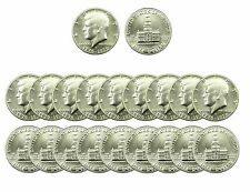 """A (20) Coin Roll of 1976-S Kennedy """"BU"""" 40% Silver Half Dollars US Mint Coin $"""