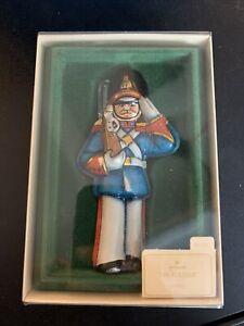 1982 vintage Hallmark Keepsake Ornament TIN SOLDIER  WITH ORIGINAL BOX