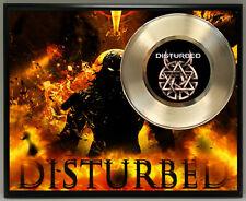 Disturbed Poster Art Metalized Record Music Memorabilia Plaque Wall Art 2