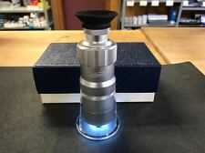 """iGaging 100X LED MEASURING  MICROSCOPE, 0.0005""""/0.01MM, Magnifying Loupe, Scale"""