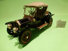 FRANKLIN MINT CADILLAC 1910 MODEL THIRTY - BLACK 1:24 - EXCELLENT