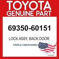 TOYOTA GENUINE 6935060151 LOCK ASSY BACK DOOR 69350-60151