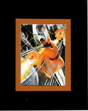Hanna Barbera PROFESSIONALLY MATTED PRINT- SPACE GHOST IN ACTION Alex Ross art