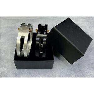 ALYX Industrial Bracelet Stainless Steel Wristband Metal Buckle Streetwear 1017