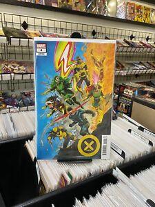 X-Men 4 V6 Declan Shalvey 1/25 Variant Cover - Marvel Comics 2021