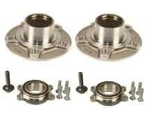 For Audi A4 A5 A6 A7 RS7 Quattro Pair Set of Front Wheel Hubs w/ Bearings