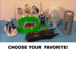 Taco Bell 1997 Vintage DC Adventures of Batman & Robin Toys-Pick Your Favorite!