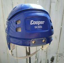 Vintage Blue Cooper SK600 small sr size Hockey Hurling Helmet  Canada