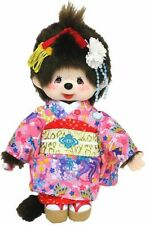 "MONCHHICHI GIRL Sekiguchi 9""H Maiko Geisha Kimono Japanese Outfit Monkey Doll"
