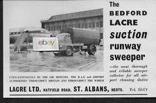 OLYMPIC AIRWAYS 1962 COMET 4B  QUEEN SOPHIA LACRE RUNWAY SWEEPER AD