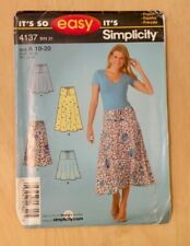 Simplicity Its so Easy Pull On Skirt Sewing Pattern No. 4137