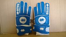 Errea Absolut Goalkeeper Gloves Blue/White Palm, Adult size 10.5 Pro Quality New
