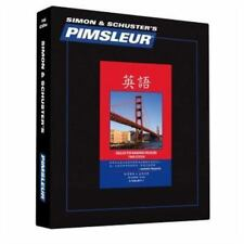 Pimsleur English for Chinese (Mandarin) Speakers Level 1 CD: Learn to Speak and