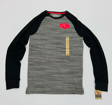 Men's Urban Pipeline Max Flex Thermal L/S Raglan Shirt Gray & Black Size Small