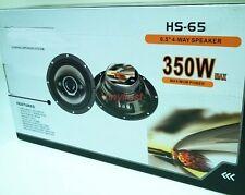 """6.5 / 6.75"""" (165mm) Car Speakers Rear Door 4way 350 w 4ohm 6504-RD (B)"""
