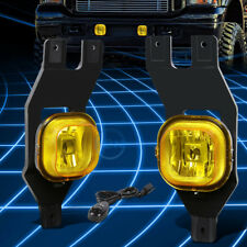Amber Yellow OE Driving Fog Light/Lamp+Switch for 1999-2004 Superduty/Excursion