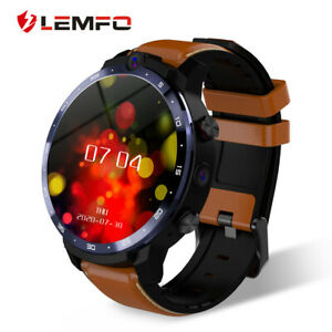 LEMFO LEM12 Pro 4G +64G Wireless Projection Dual Cameras Face ID GPS Smartwatch