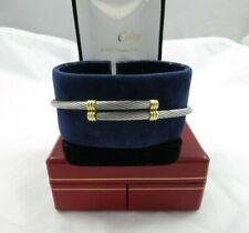 Bracelet or et acier