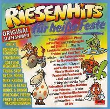 Riesenhits für heiße Feste (1986) Eav, Bruce & Bongo, Leinemann, Bläck Fö.. [CD]