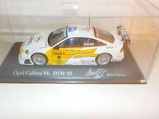 OPEL CALIBRA V6 4X4 DTM 1995 Team Joest M.Reuter MINICHAMPS Pauls Model Art 1/43