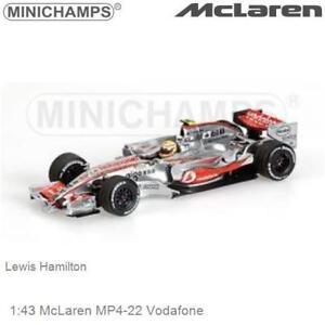 Mercedes MP-4-22 McLaren Minichamps 1:43