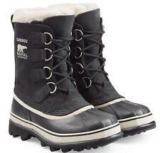 NEW Womens Black Sorel Caribou  Rain Winter  Snow Waterproof Boots  Size 8