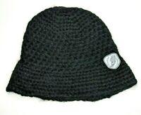 Saucony Womens Bucket Beanie Black Hat Size O/S