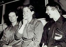 1958 Vintage Photo Judy Grinham wins Medal at British Empire Commonwealth Games