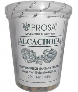 Alcachofa Con Vinagre De Manzana Y Nopal 150 Capsulas
