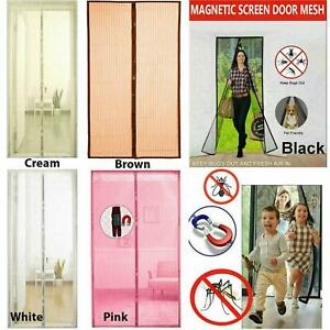 Magnetic Insect Magic Door Net Screen Bug Mosquito Fly Insect Curtain Mesh Guard