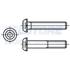 M3x6-BN330-50 pezzi Vite M3x6 acciaio zincato testa cilindrica taglio