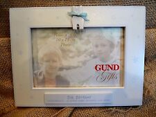 Gund I'M THE BIG BROTHER Wood Frame 4x6 Photo Blue Cat on Top~NEW in BOX