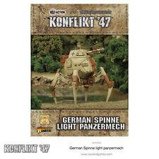 GERMAN LIETTA LIGHT panzermech * konflikt' 47 * WARLORD GAMES