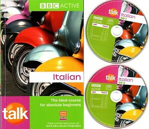 BBC Active Talk Italian Course Book And 2 CD's Basic Course for Beginners Learn