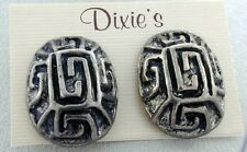 By Dixie'S Gray Clip-On Earrings