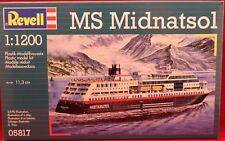 ++MS MIDNATSOL++HURTIGRUTEN++REVELL+++BAUSATZ+++M 1:200+++neu und ovp.