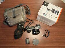 Sony Alpha A6000 24.3MP Digital Camera (Black) With 16-50mm Power Zoom Lens