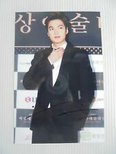 Lee Min Ho Korean Actor Signed 4x6 Photo Autograph hand signed USA Seller D3