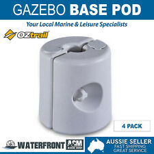 Oztrail Gazebo Base Pod Marquee Tent Canopy Feet Leg Water Sand Weight Pods Kit