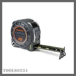 Crescent L1125B Lufkin Shockforce Nite-Eye Dual Sided Tape Measure 25'