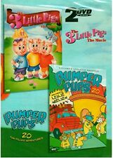 The 3 Little Pigs: The Movie/Pumper Pups, Vol. 1 (DVD, 2005, 2-Disc Set)