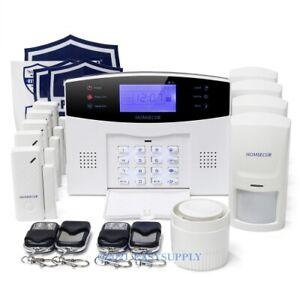 HOMSECUR Système d'Alarme Sécurité Maison sans Fil&filaire GSM voix française