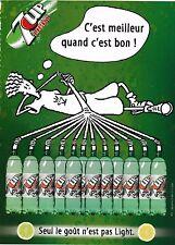 Publicité de Presse 7up Light Fido Dido French Press Ad 2005