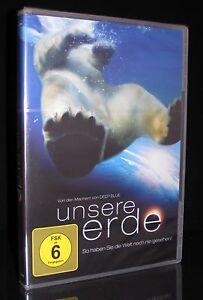 DVD UNSERE ERDE - Einer der aufwändigsten Naturfilme aller Zeiten *** NEU ***