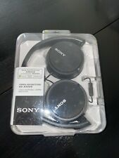 NEW H Sony MDRZX110AP ZX Series Extra Bass Smartphone Headset with Mic (Black)