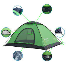 Instant Automatic Backpack Pop Up Waterproof Tent Travel HikingTent 2 Person