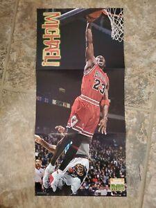 1998 Huge Michael Jordan Sports Illustrated For Kids Poster 22x10 Chicago Bulls
