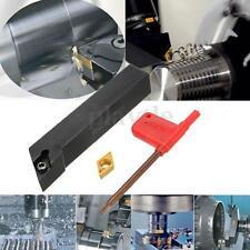 16mm SDJCR1616H11 1Holder + DCMT11T308 LatheTurning Tool Boring Bar Black