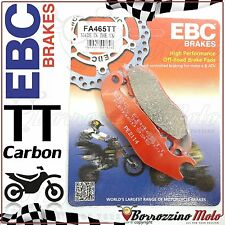 PASTIGLIE FRENO ANTERIORE CARBON EBC FA465TT DERBI CROSS CITY 125 2013 2014